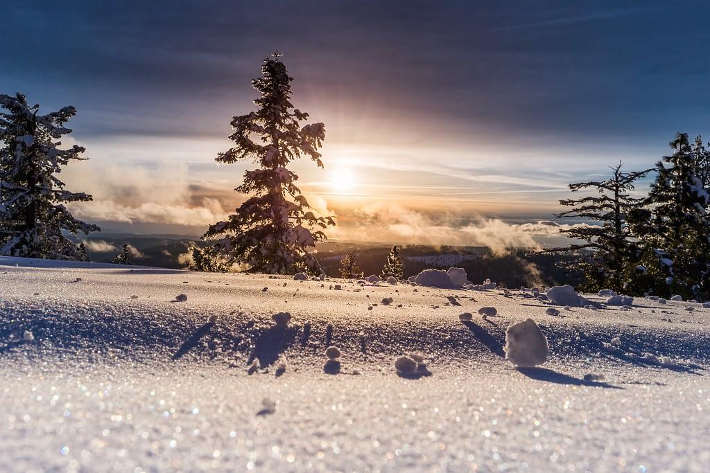 Sunset_Mountain_Trees_Snow